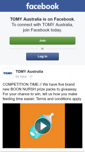 Tomy Australia – Win One of Five Brand New Boon Nursh Prize Packs