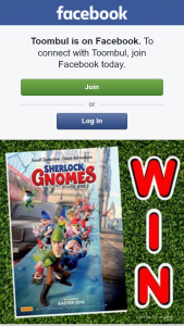 Toombul Shopping Centte – Win a Family Pass (4 Tickets) to See 'sherlock Gnomes' Valued at $80. (prize valued at $80)