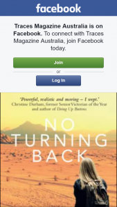 Traces magazine – Win a Copy of No Turning Back