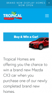 Tropical Homes Townsville – Win a Car
