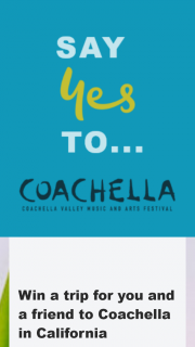 Various Radio stations – Win a Trip for You and a Friend to Coachella In California