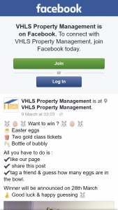 VHLS Property Management – Win Gold Class Tickets & Easter Eggs