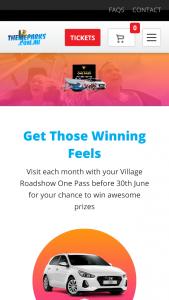 Village Roadshow Theme Parks – Competition (prize valued at $264,172)