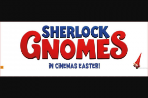 Visa Entertainment – Win One of 15 Family Passes to See Sherlock Gnomes