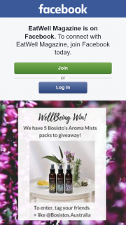 Wellbeing – Win One of Five Bosisto's Aroma Mist Packs