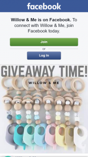Willow & Me – Win Wooden Baby Toy