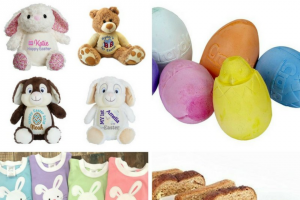Win a Personalized Easter Bunny Or Bear From My Teddy (prize valued at $60)