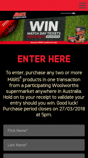 Win an Instant Prize (prize valued at $100,000)