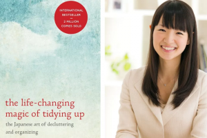 Win Marie Kondo's Book 'the Life-Changing Magic of Tidying Up'.