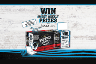 Woodstock Promotion WeeklyInstant win – Competition (prize valued at $24,049)