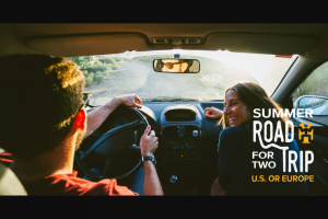 World Nomads – Win 1 of 2 X 4 Week Usa Or Europe Road Trip (prize valued at $26,000)