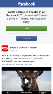Yatala 3 drive-in theatre – Win 1 of 3 Free Car Passes