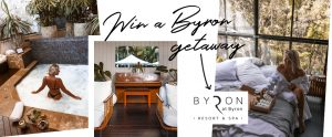 Biology Skin – Win the Byron Getaway of Your Dreams valued at $1,000 OR 1 of 2 prize packs valued at $110 each