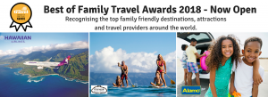 Bound Round – Best of Family Travel Awards – Win a Family Holiday to Maui (airfares included) valued at $8,688
