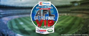 Crocmedia – Choices Flooring's Ultimate 2018 Toyota AFL Grand Final VIP Experience – Win a major prize valued at $17,160 OR Weekly prizes