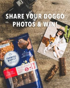 Farmers Market Pet Food – Win a special hamper of Dry Food, Treats and Trays
