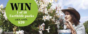 Gardening Australia – Win 1 of 10 Earthlife packs valued at $59 each
