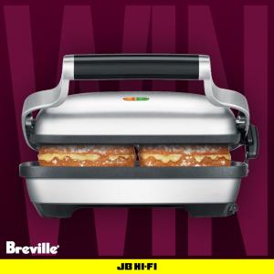 JB Hi-Fi – Win 1 of 12 The Perfect Press Sandwich Makers