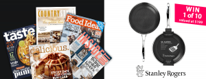 News Life Media – isubscribe CTW Stanley Rogers SR-Matrix Frypan – Win 1 of 10 Stanley Rogers SR-Matrix Frypan valued at $199 each