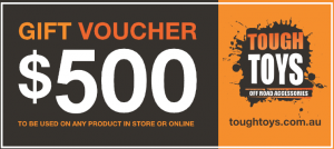 What's U Downunder & Tough Toys – Win a $500 Tough Toys voucher