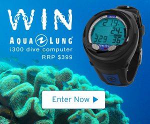 Wildiaries – Win a Aqualung i300 dive computer valued at $399