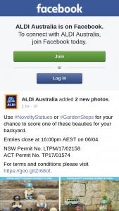 Aldi Australia – Win Novelty Garden Statues Or Garden Steps