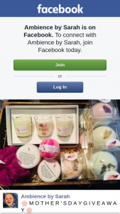 Ambience by Sarah – Win an Ambience By Sarah Mother's Day Bumper Gift Box (prize valued at $145)