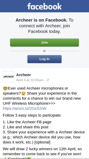 Archeer – Win Our Brand New Uhf Wireless Microphone