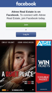 Attree Real estate – Win 1 of 5 Double Passes to See a Quiet Place Thanks to Paramount Pictures