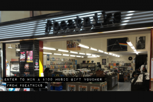 Australian Music Retailers Association – Commences at 1pm on Friday 30 March 2018 and (prize valued at $100)