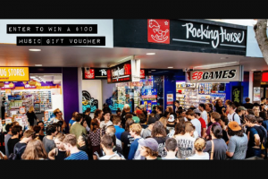 Australian Music Retailers Association – Win $100 Voucher From Brisbane's Own Rockinghorse Records (prize valued at $100)