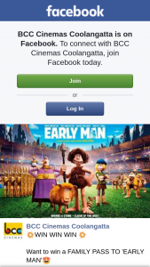 BCC Cinemas Coolangatta – Win a Family Pass to 'early Man'