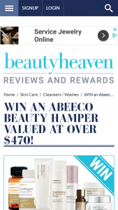 Beauty Heaven – Win an Abeeco Beauty Hamper Valued at Over $470 (prize valued at $470)