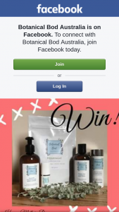 Botanical Bod Australia FB – Win this and Why
