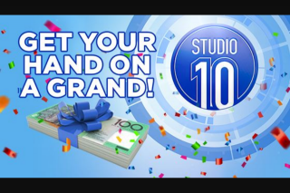 Channel 10 – Win $1000 $2000 Or Possibly $3000 (prize valued at $99,000)