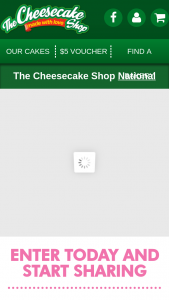 Cheesecake Shop Mother of the Year – Win a Cash Prize of $1000. (prize valued at $10,000)