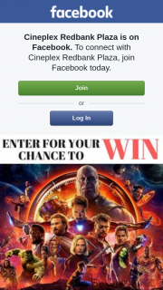 Cineplex Redbank Plaza – Win a Deluxe Double Pass to See Avengersinfinity War