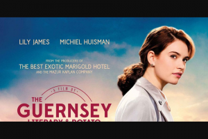 Community News – Win 1 of 20 Double In-Season Passes to The Guernsey Literary & Potato Peel Pie Society
