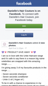 Danielle's Hair Couture – 3 of My Favourite Products In The Range…..