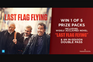 Dendy cinemas – Win a Last Flag Flying Prize Pack