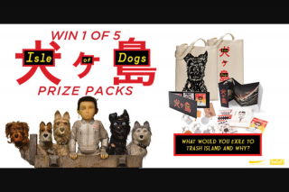 Dendy – Win an Isle of Dogs Prize Pack
