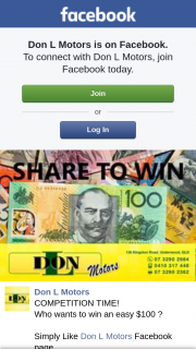 Don L Motors Underwood – Win an Easy $100 ?