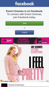 Event Cinemas Australia Fair – Win a Double Pass to this Months Chicks at The Flicks Screening of I Feel Pretty on Wednesday April 18th