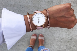 Fashion Journal – One Twilight Bracelet In Rose Gold and One Fraser Cuff In Rose Gold