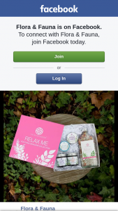 Flora & Fauna – to Our F&f Facebook Community Today (prize valued at $55)