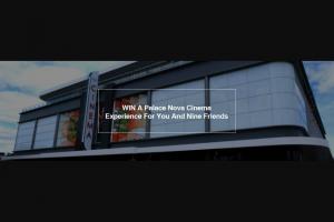 Fritz – Win a Palace Nova Cinema Experience for You and Nine Friends