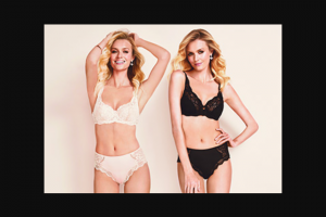 Girl – Win One of 2 Sets of Triumph Lingerie Valued at $100 Each (prize valued at $100)