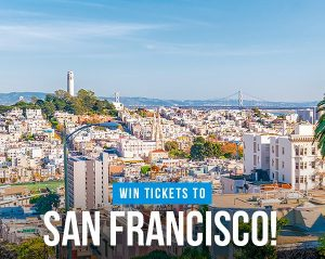iFly Magazine – Win 2 tickets to San Francisco
