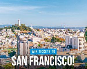 iFly Magazine – Win 2 tickets to San Francisco