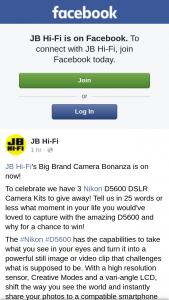 JB Hi-Fi – Win One of Three Nikon D5600 Dslr Camera Kits